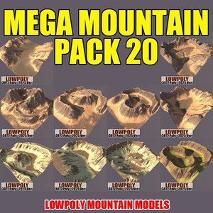 3ds max mountains pack 20