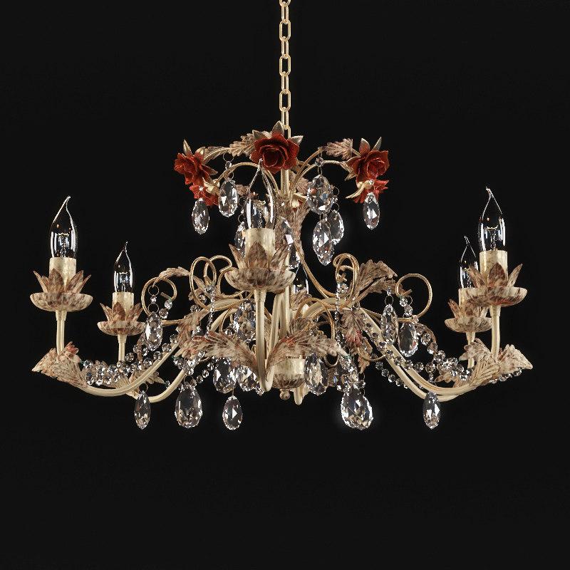 3d model chandelier vitaluce
