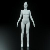 Girl A-Pose