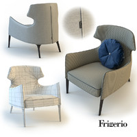 3d model frigerio salotti crosby
