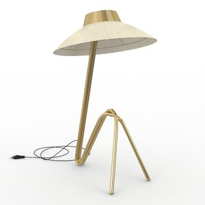 3d freevolle lamp