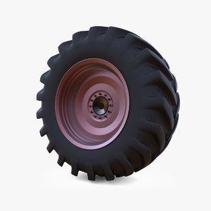 3d big tire