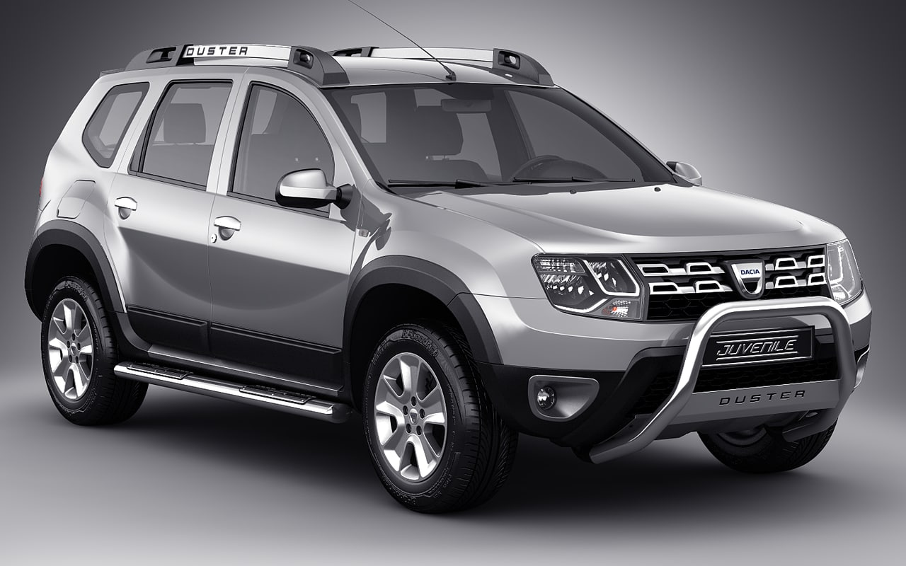 3d dacia duster. Black Bedroom Furniture Sets. Home Design Ideas