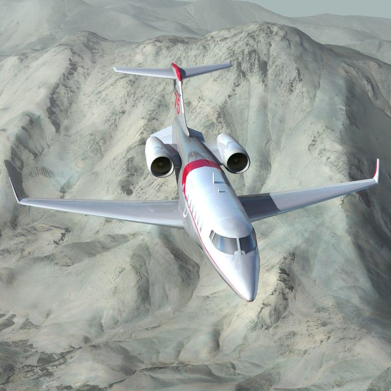 max learjet 85 business jet