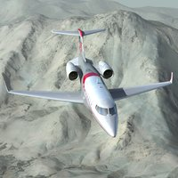 max learjet 85 business jet