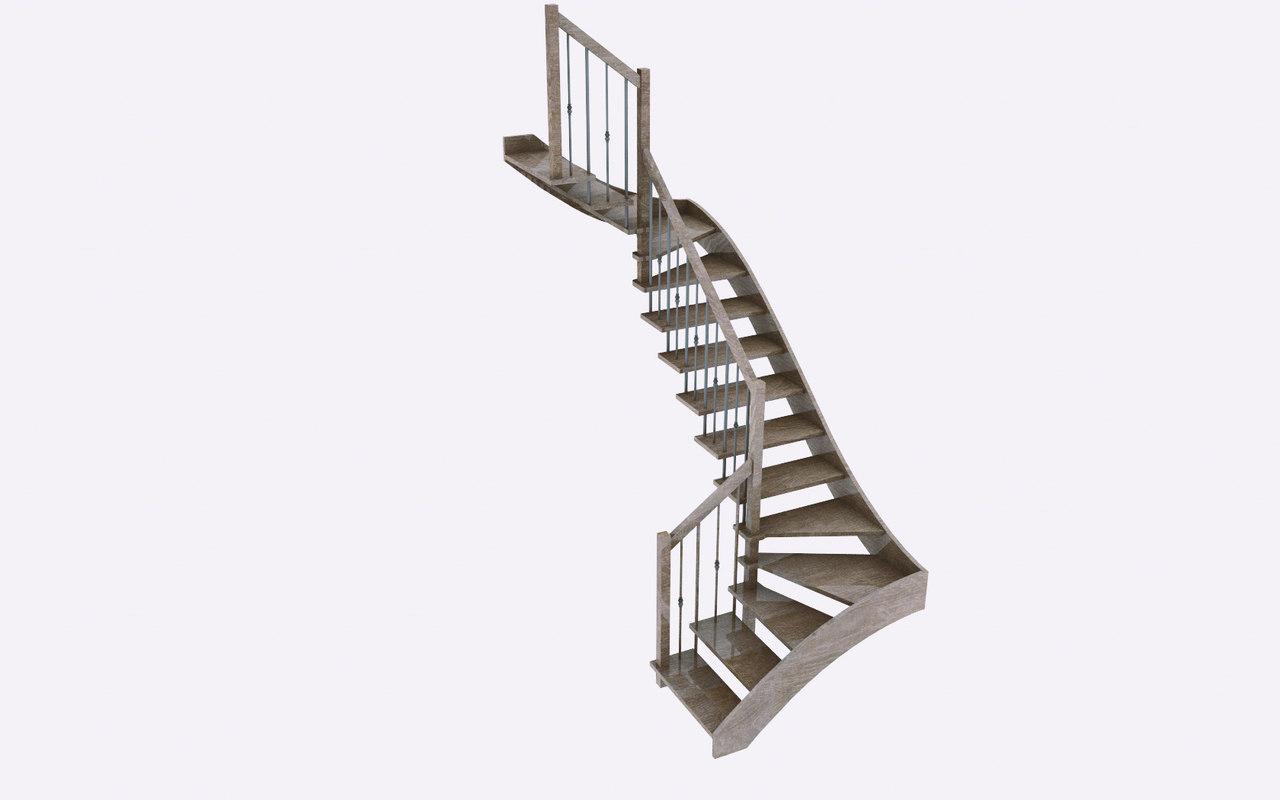 cinema4d interior stairs