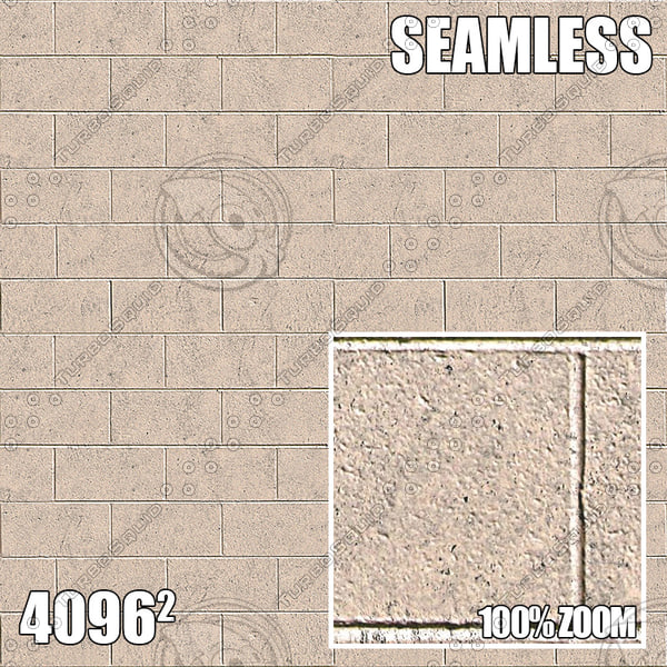 4096 Seamless Brick Stone I