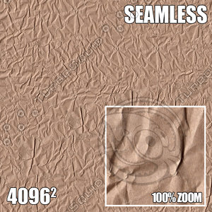 4096 Crumpled Paper Texture I