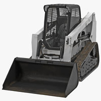 max compact tracked loader rigged