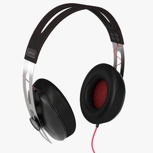 3d model sennheiser momentum headphones