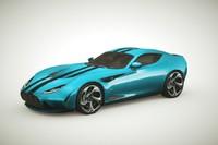 Generic Supercar v11 multicolors