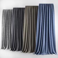3d curtains modern
