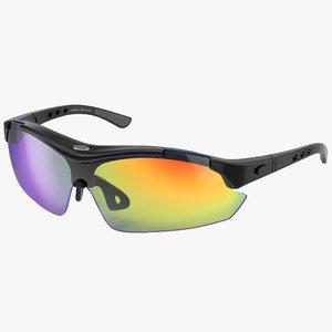 sport glasses 3d max