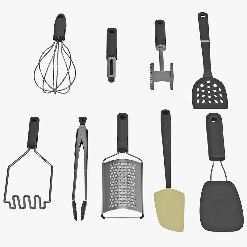 kitchen tool set 3 max