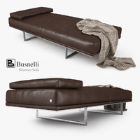 3d model of busnelli blumun sofa