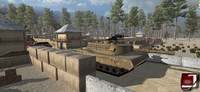 3d military base scar l model