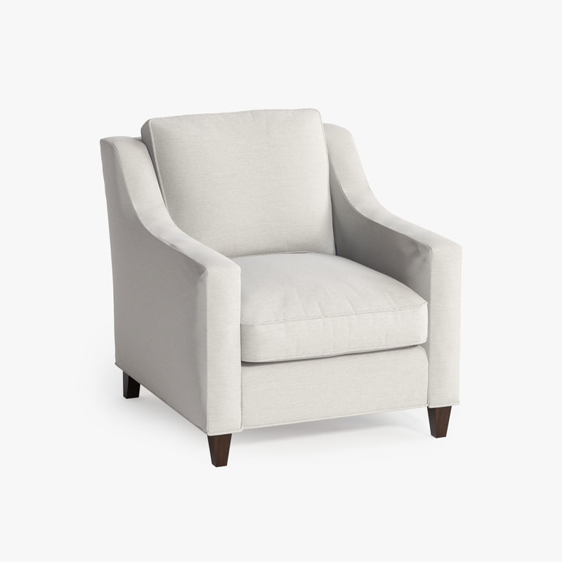 3d berkley loose chair model