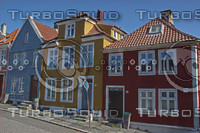 Houses in Bergen