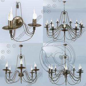 3d ma lamp light