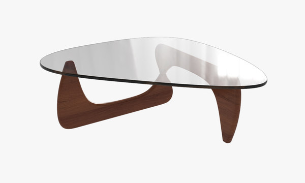 3d noguchi coffee table