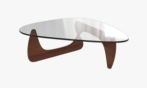 3d noguchi coffee table