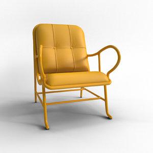 3ds max gardenias chair barcelona
