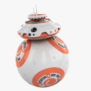 3d model ball droid star wars