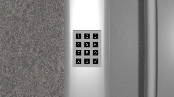 blend key pad