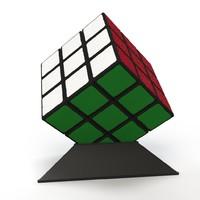 free puzzle cube 001 3d model
