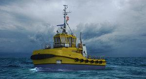 3ds tug ports ships