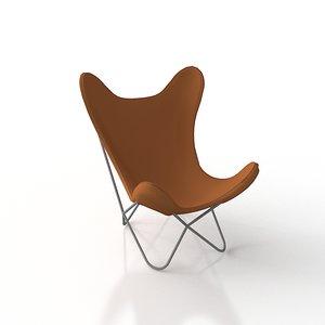 3d cb2 1938 tobacco chair model