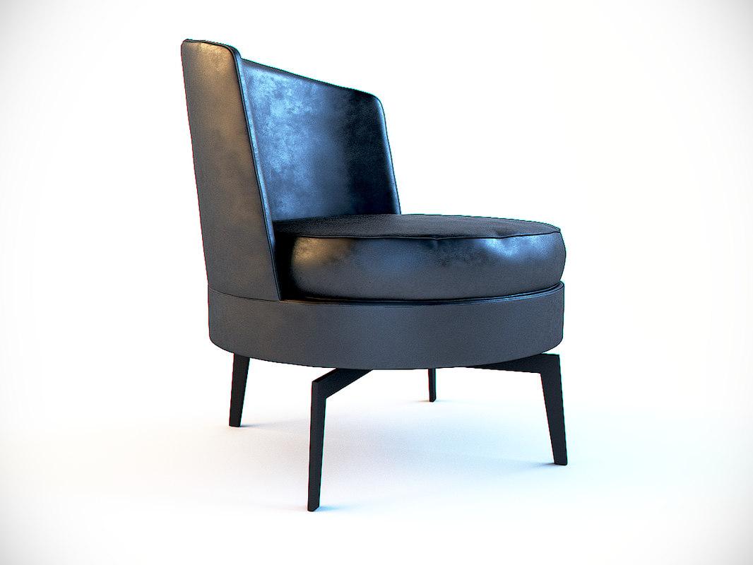 chair flexform feel good max