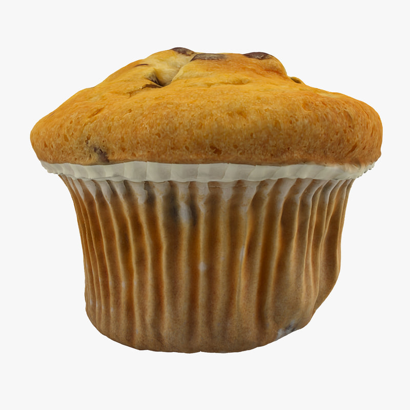 3ds max muffin