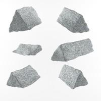 3d model stone ready use