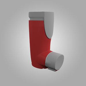 asthma inhaler air 3d max