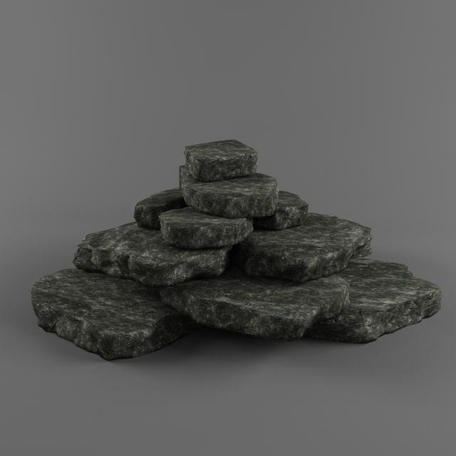 stone ready 3d model