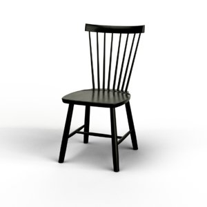 3d carl lilla Åland chairs model
