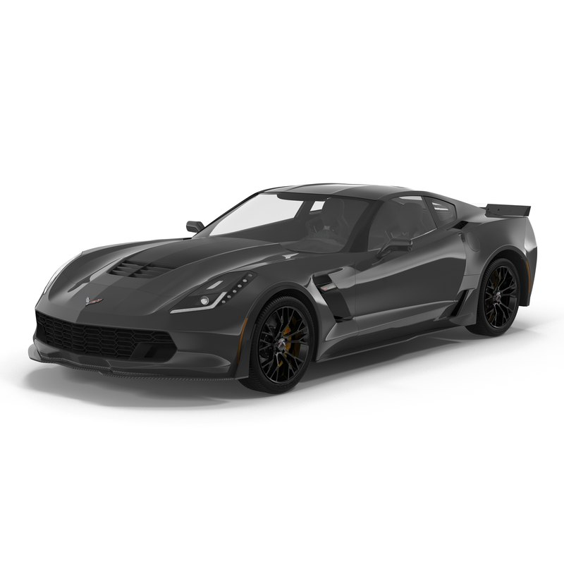 3d 3ds chevrolet corvette 2015 simple
