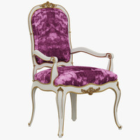 3d model instyle faberge chair