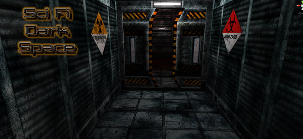 packs sci-fi dark space 3d x