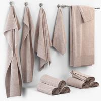 3dsmax towel cloth