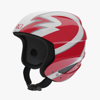 Giro Sestriere Helmet Red Strips