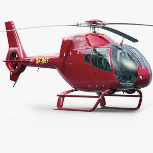 3d model eurocopter 120 copter