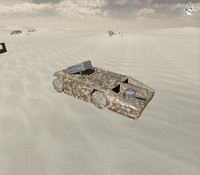 3d apc vehicle model
