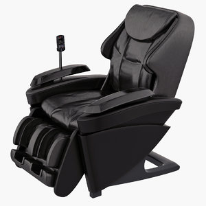 massage chair panasonic ep-ma70 3d model