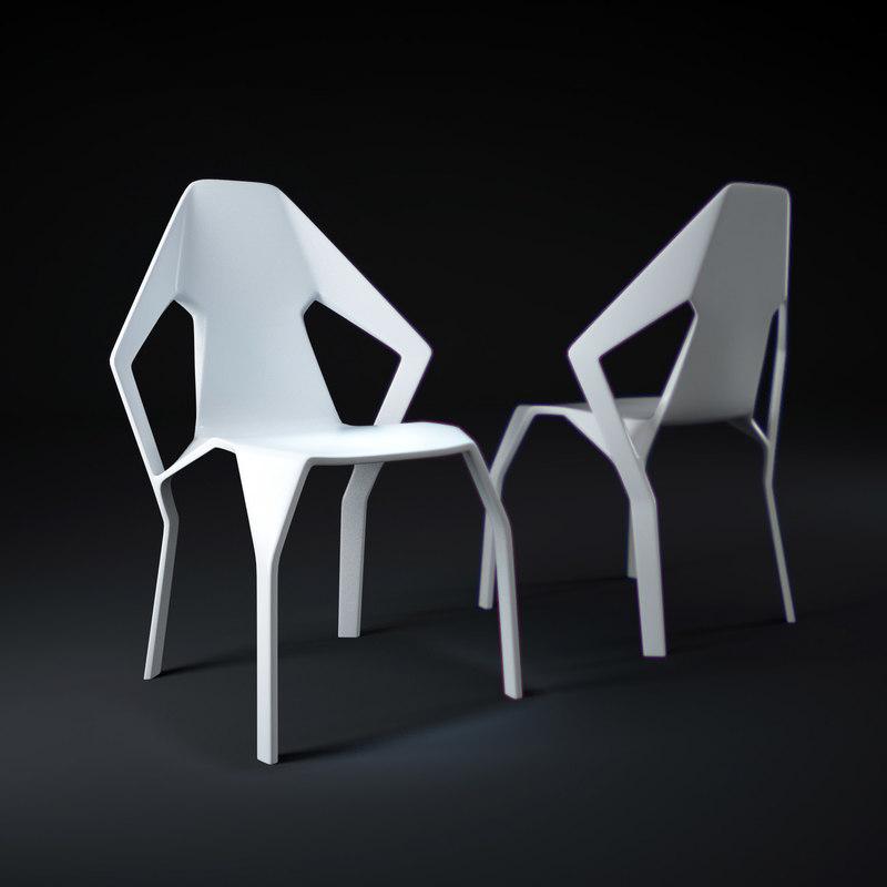 amsterdam-chair 3d max