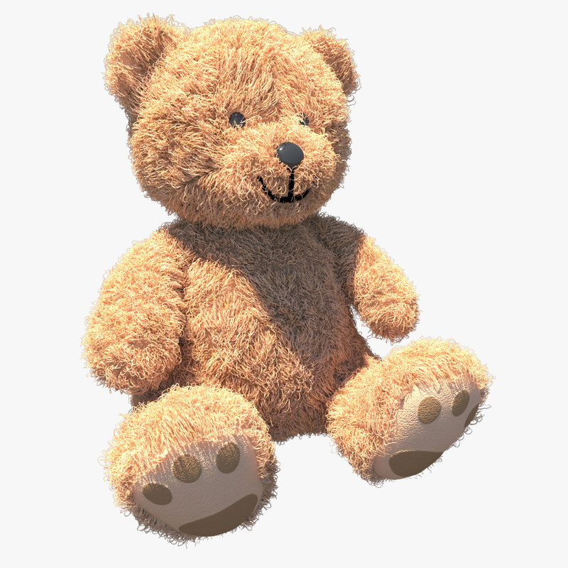 teddy bear 3d model