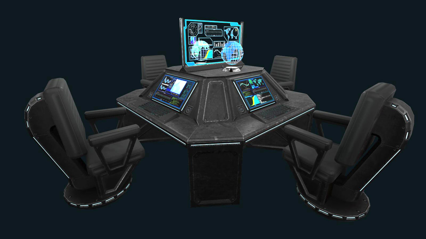 3d model holographic pbr