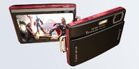3d model t300 sony digital camera