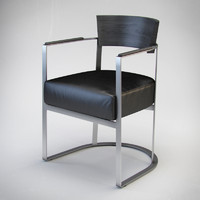 3d flexform morgan armchair model